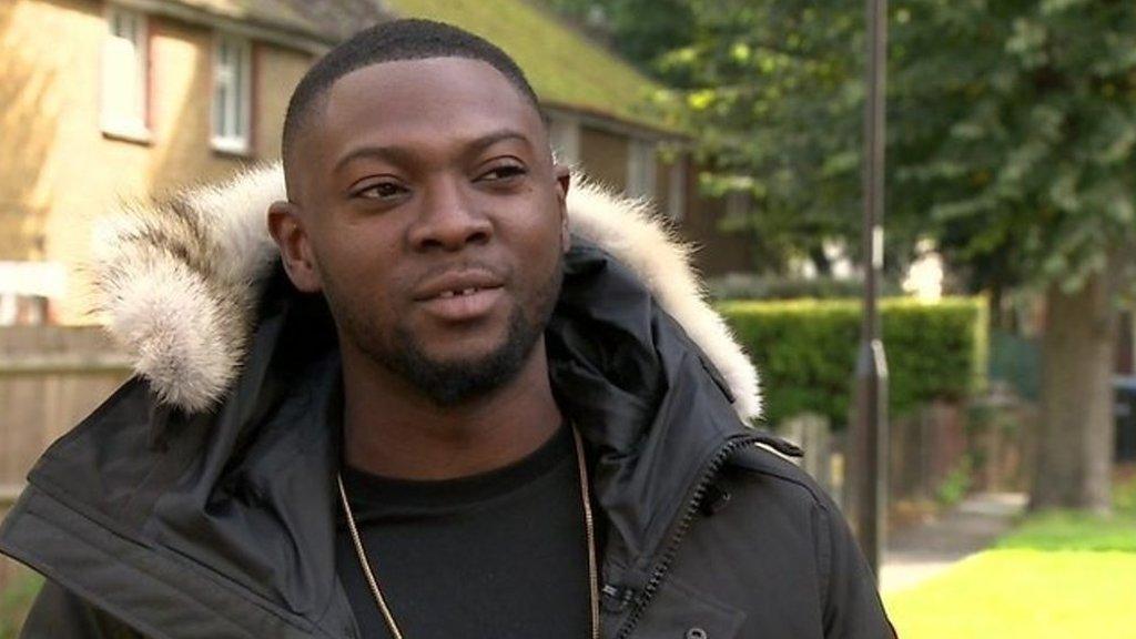 BBC News - Rapman: The Deptford rapper signed by Jay-Z