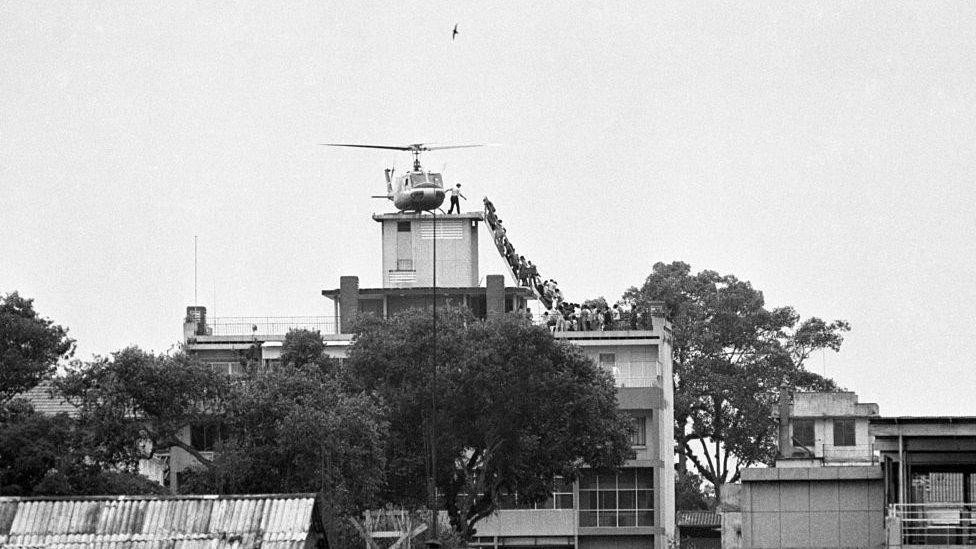 1975'te Saygon'daki ABD büyükelçiliğinin tahliyesi