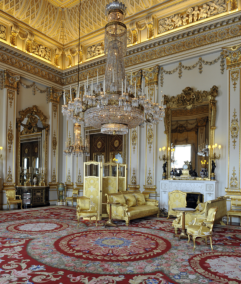 Buckingham Palace S Rooms Stuck In Time Bbc News
