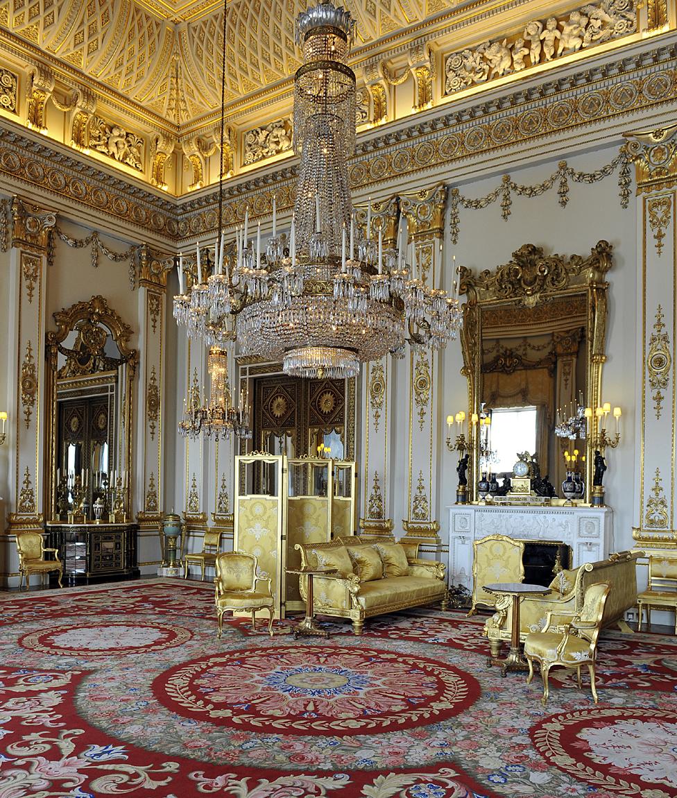 White Drawing Room, Buckingham Palace, 2011