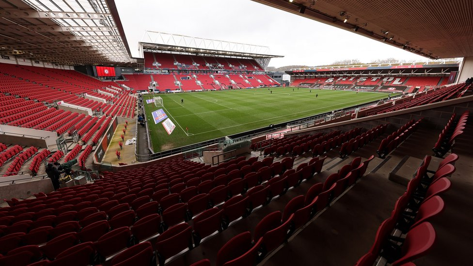 Covid-19: Bristol City's Ashton Gate Stadium planned as vaccination HQ -  BBC News