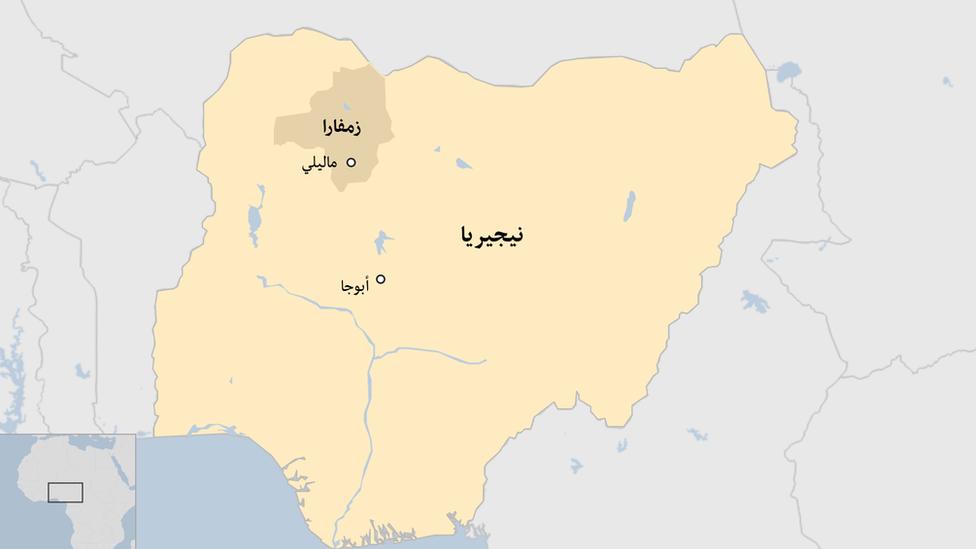 خارطة نيجيريا