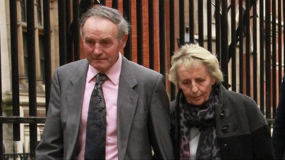 Tegwyn a Mary Davies