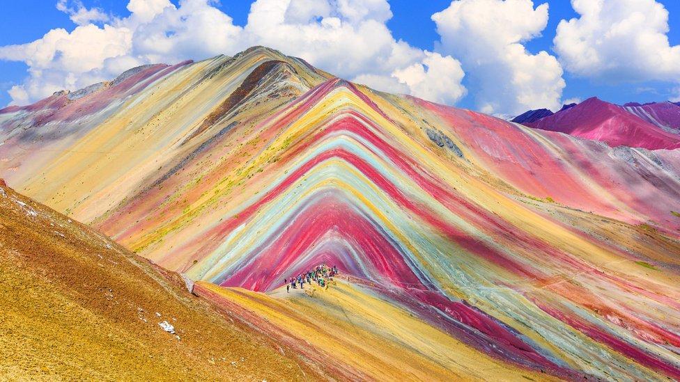 Montaña de los Siete Colores, Arcoíris o Vinicunca