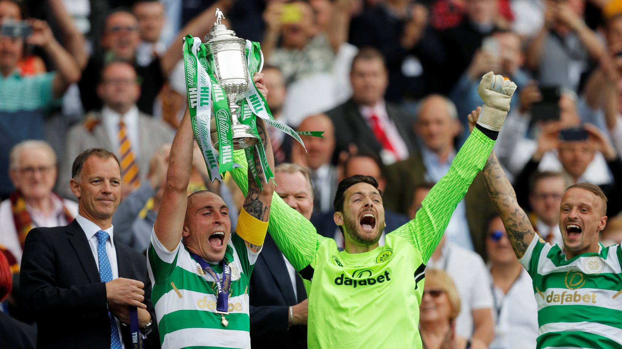 Celtic 2-0 Motherwell: 'They'll be talking about this team in years to come' - Craig Gordon