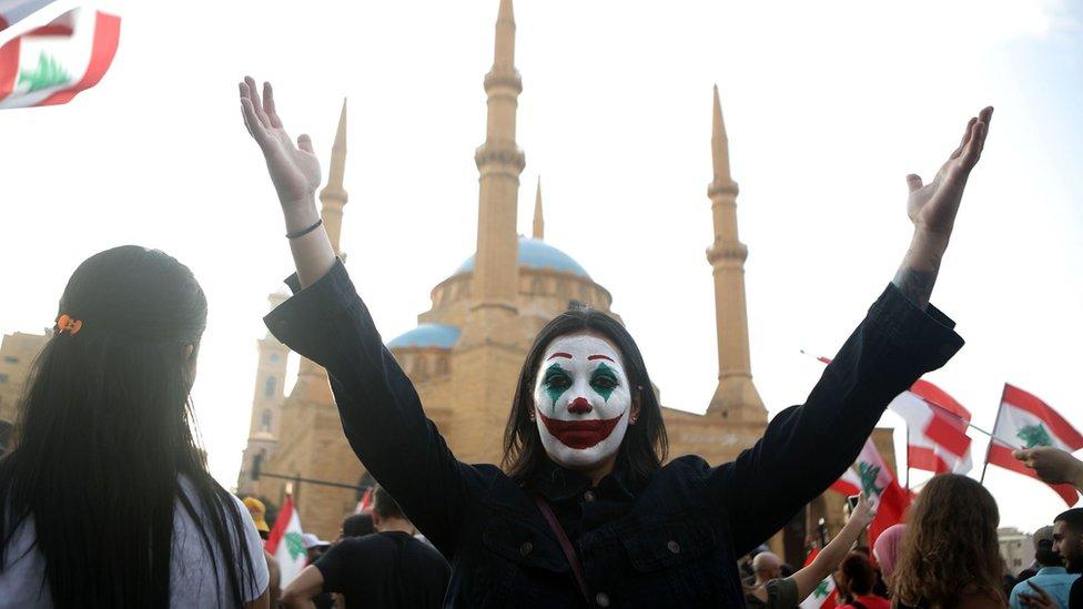 Protestas en Líbano.
