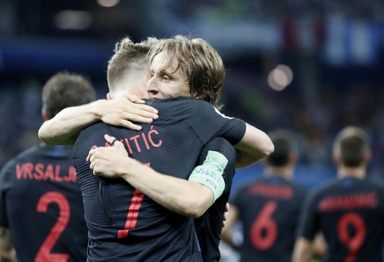 Modric y Rakitic son una de las mejores parejas de medio centros del mundo.