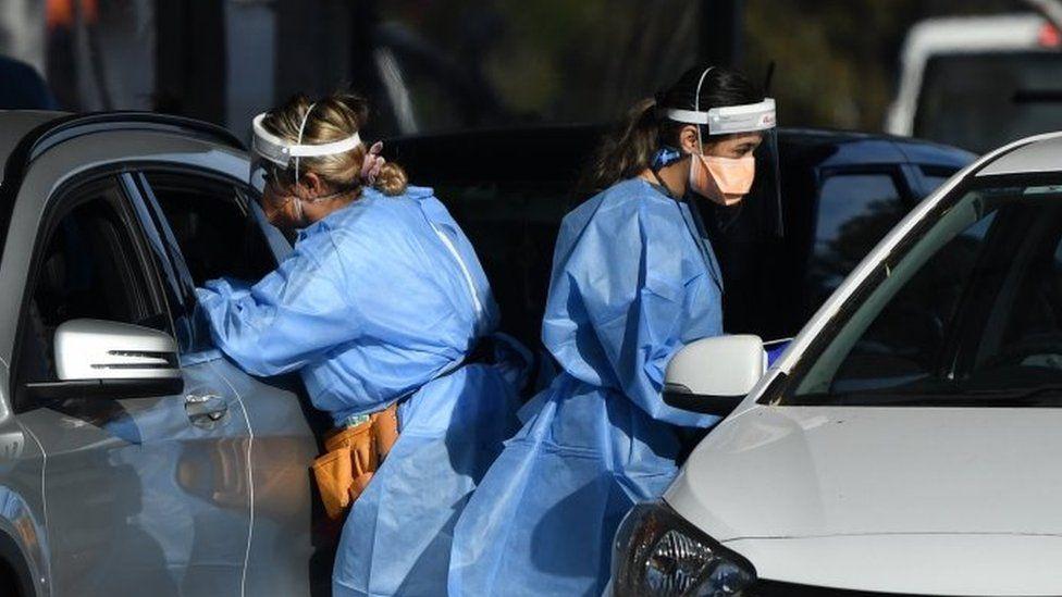 testiranje na korona virus u Sidneju