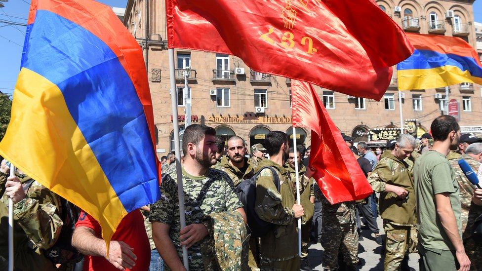 Jerevan, 27. septembar 2020.