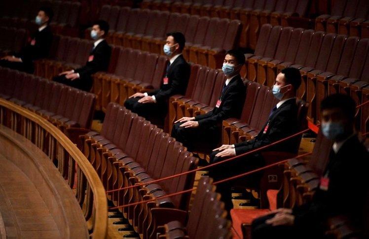 今年的中國全國「兩會」會期減半。