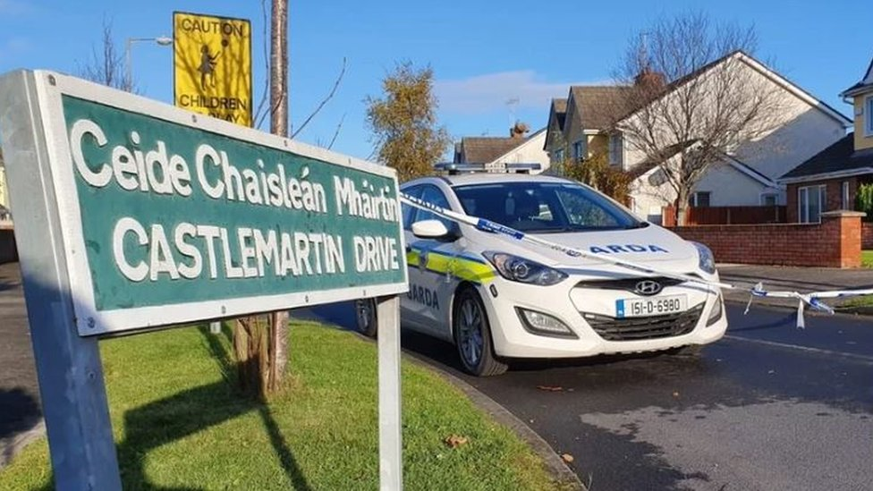 Scene at Castlemartin Drive in Bettystown
