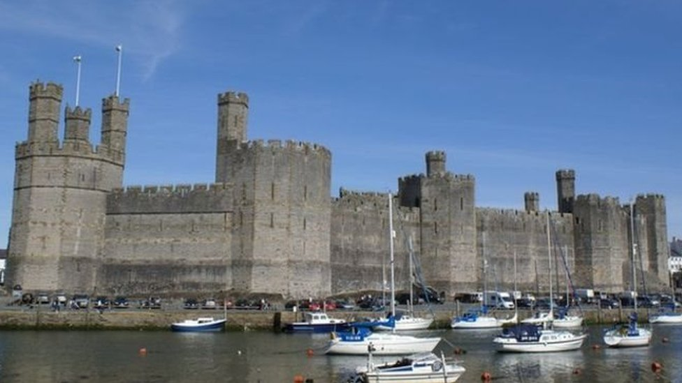 Castell Caernarfon, Gwynedd