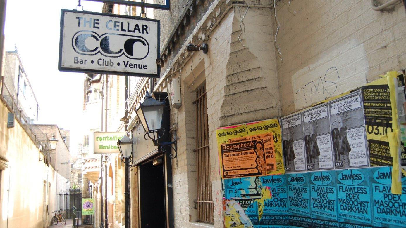BBC News - Oxford councillors back The Cellar against closure