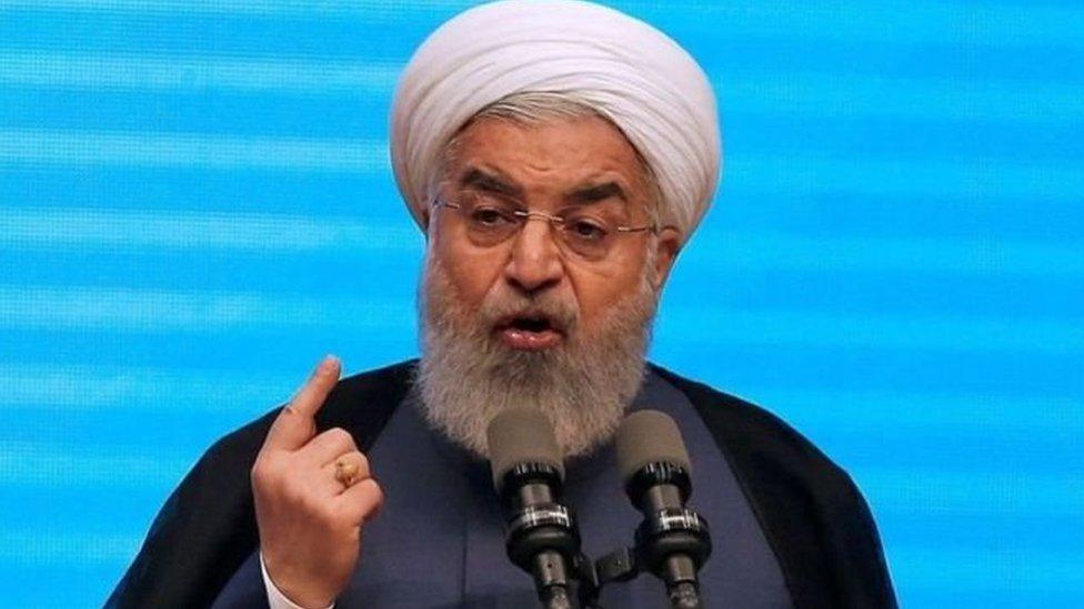 الرئيس الإيراني حذّر من