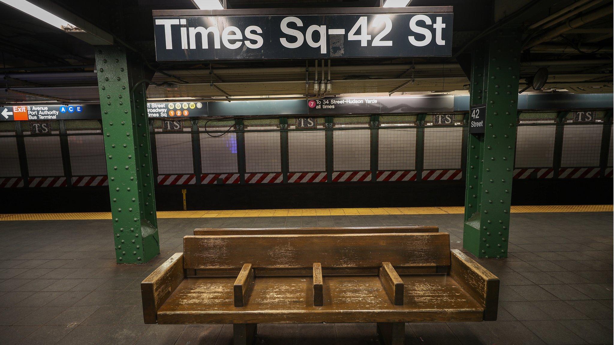 New York The City That Never Sleeps On Lockdown Bbc News