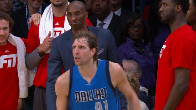 NBA - Even Kobe impressed by Mavs winner