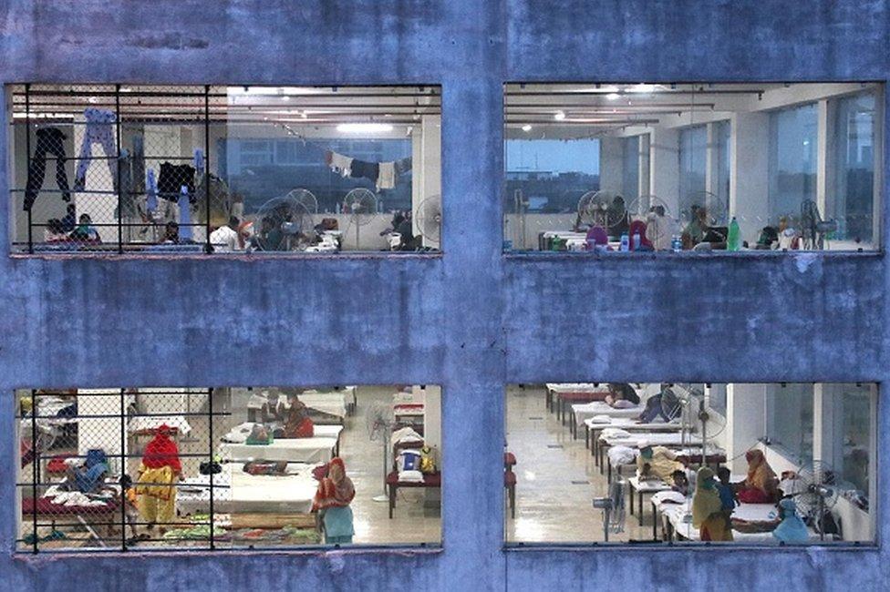 Coronavirus isolation ward in Kolkata
