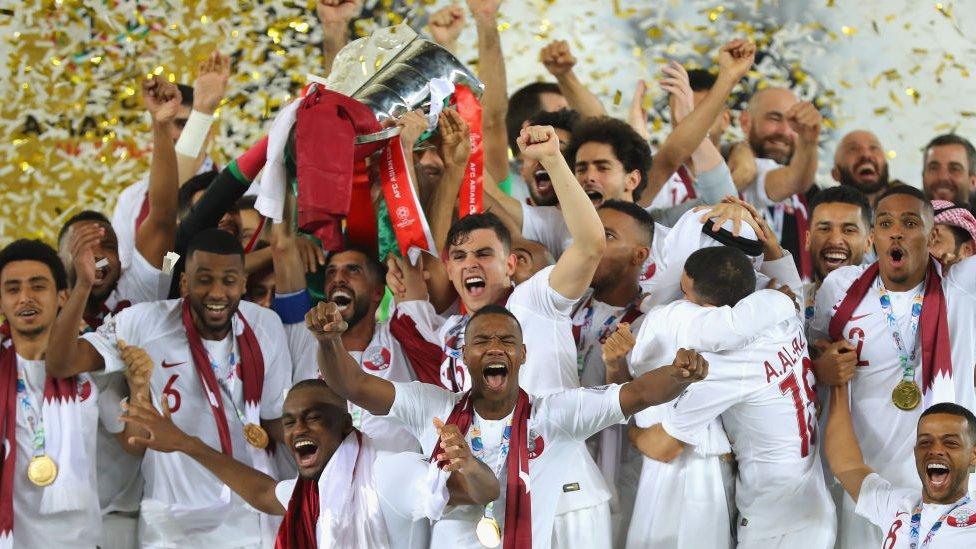 قطر تتوج بلقب بطولة كأس آسيا