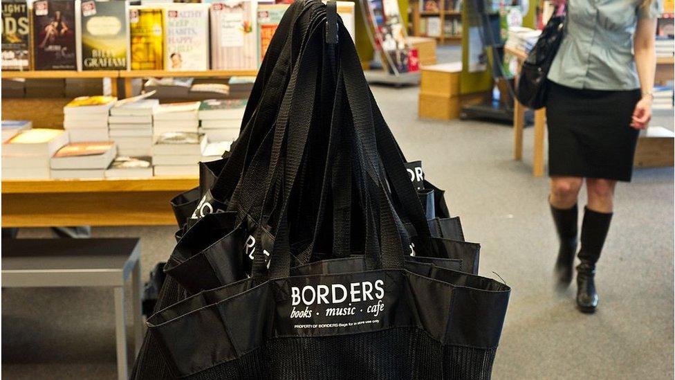 Borders book store
