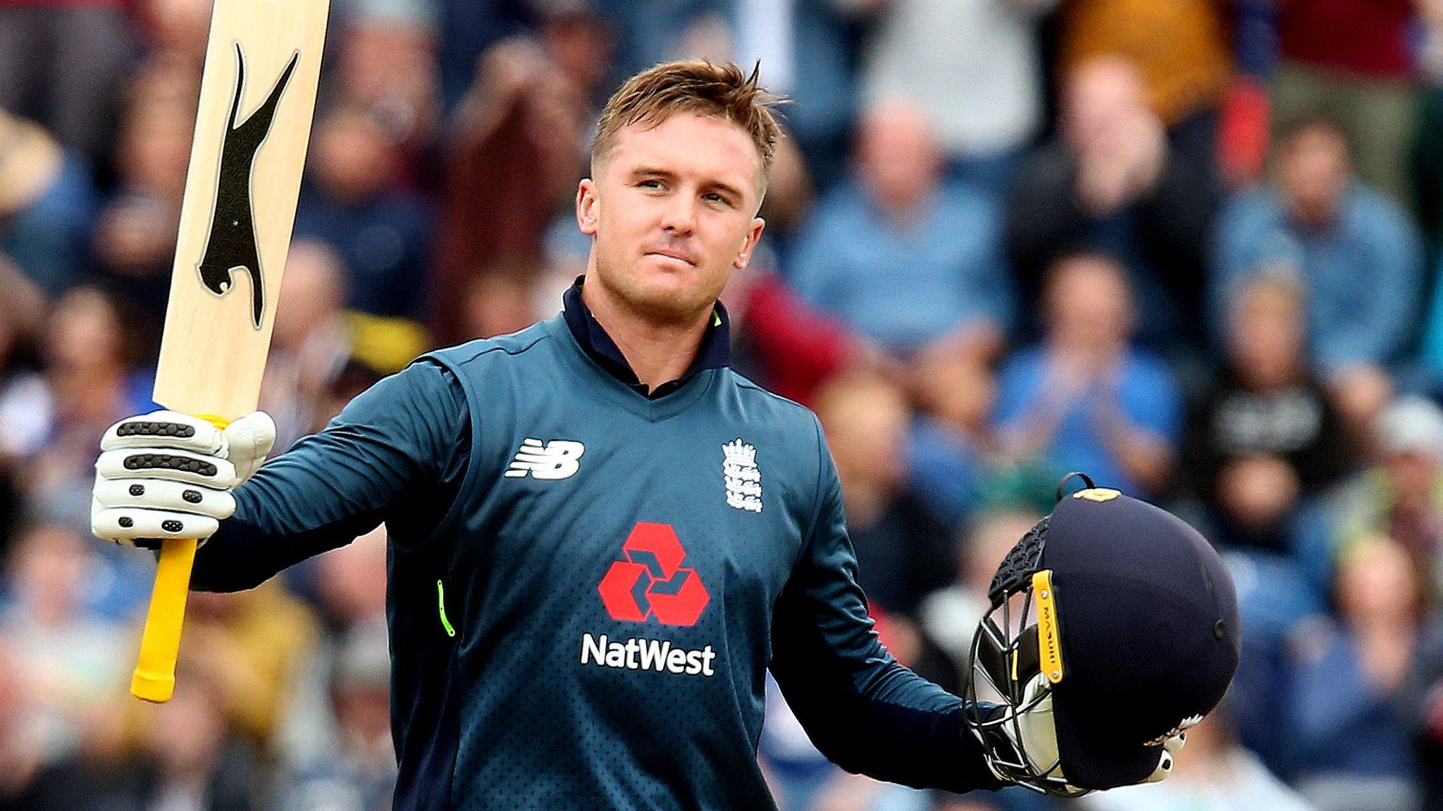 England v Australia: Jason Roy hits 120 to set up 38-run win for hosts