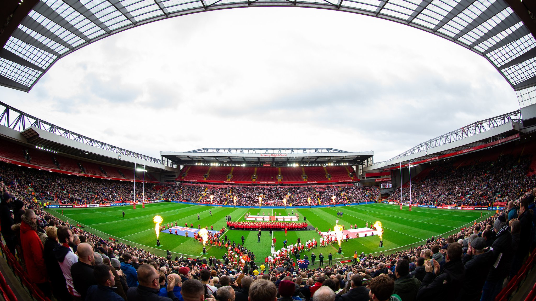Magic Weekend: Liverpool's Anfield to stage rugby league event in 2019