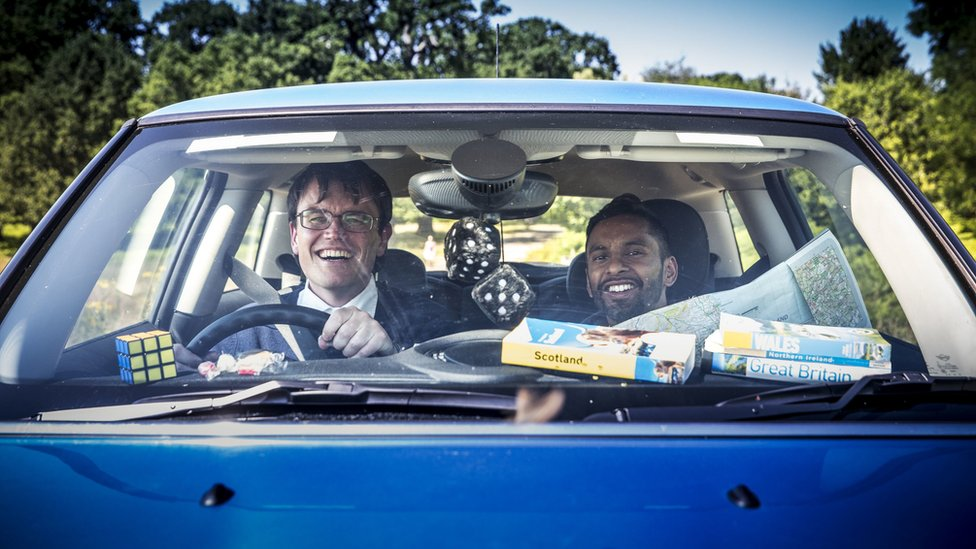 University Challenge duo Monkman and Seagull get TV show