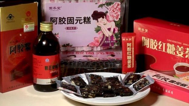 """تحظى منتجات """"إيجياوو"""" الغذائية والطبية التقليدية بشعبية في الصين"""