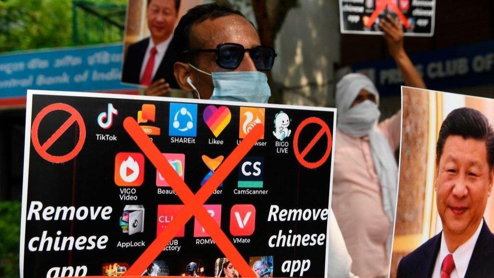 印度人抵制中國應用軟件,改用本土開發的手機軟件(Credit: Getty Images)