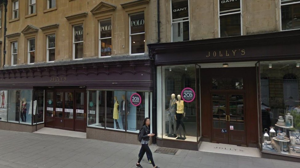 Retailers in 'advanced talks' over Bath's House of Fraser Jolly's store