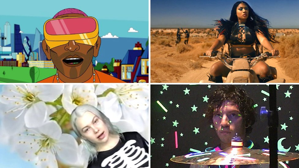 11 Of The Best Music Videos From Lockdown Bbc News