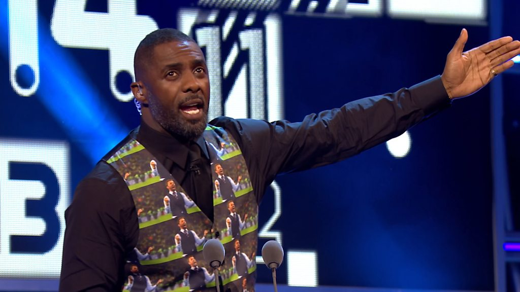 Best Fifa Awards: 'What do you think?' - Idris Elba's Gareth Southgate inspired waistcoat