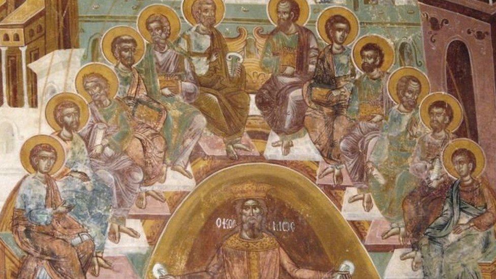 المسيح وتلاميذه
