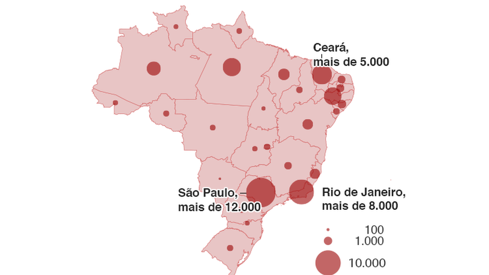7 gráficos que mostram o avanço acelerado do coronavírus no Brasil e na América Latina