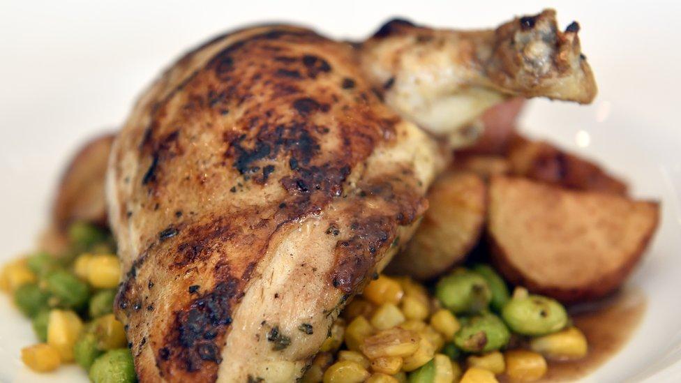 Pečena piletina sa povrćem