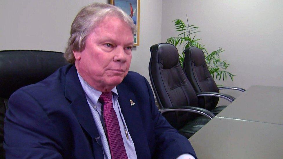 Cayman Deputy Premier Moses Kirkconnell