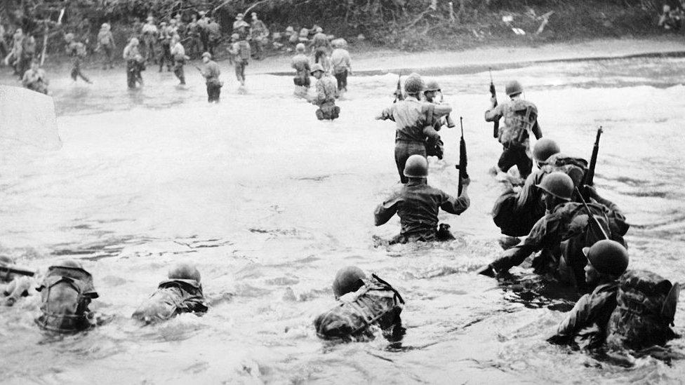 Američki vojnici u Holandskoj Novoj Gvineji