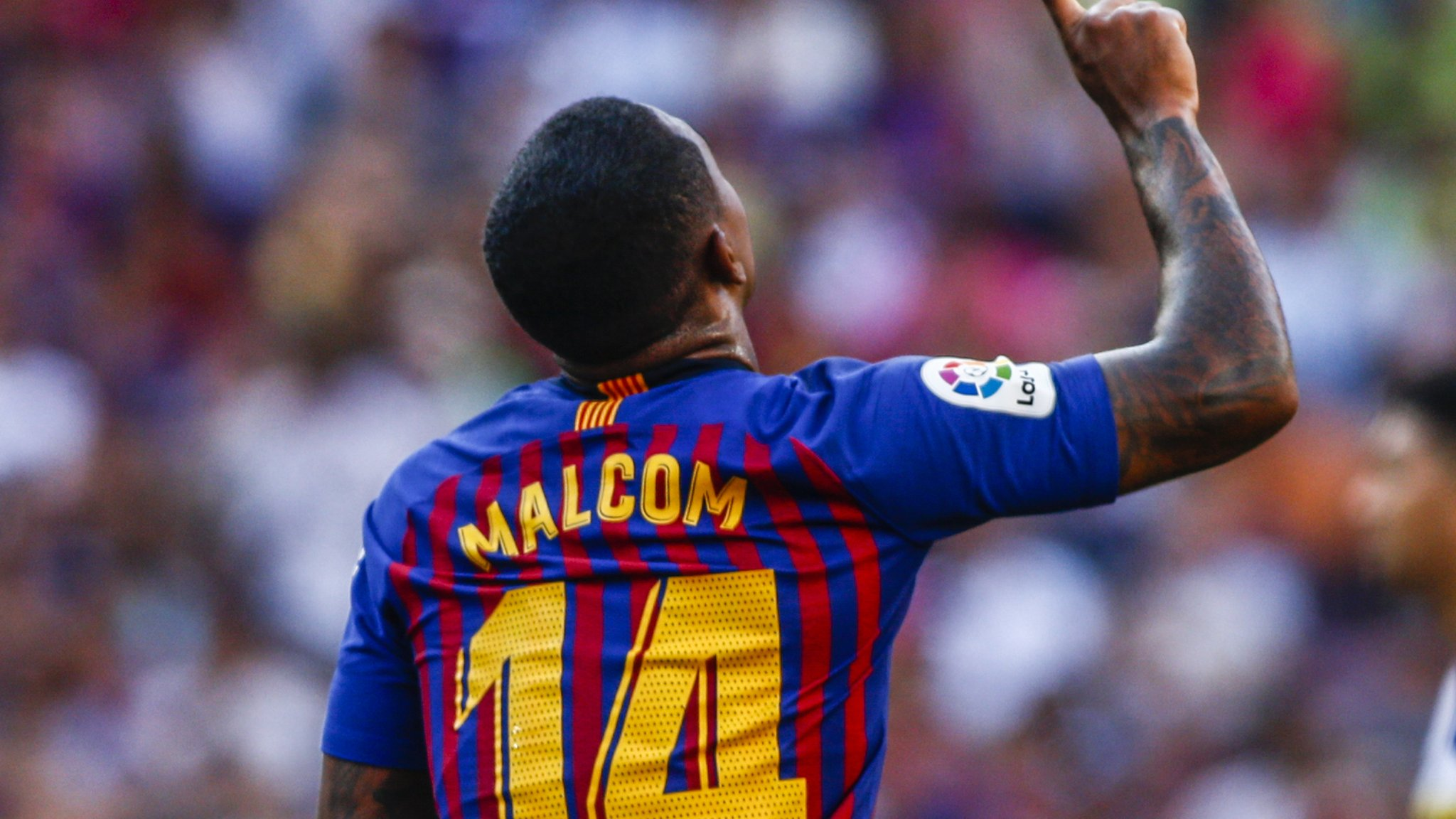 Barcelona 3-0 Boca Juniors: New signing Malcom scores in Joan Gamper Trophy friendly