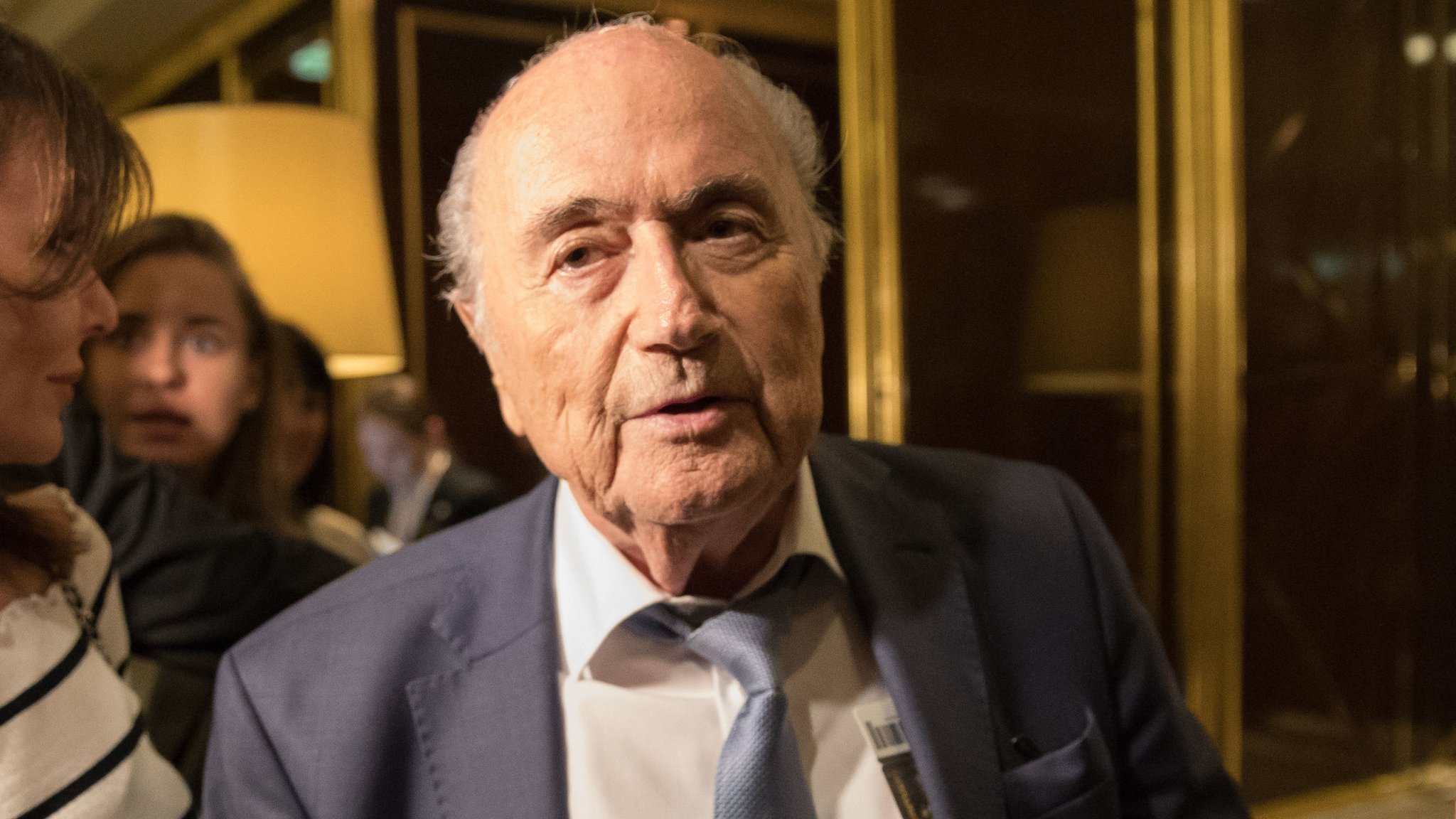 Ex-Fifa president Blatter backs England-led 2030 bid