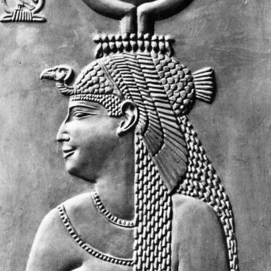A relief of Cleopatra