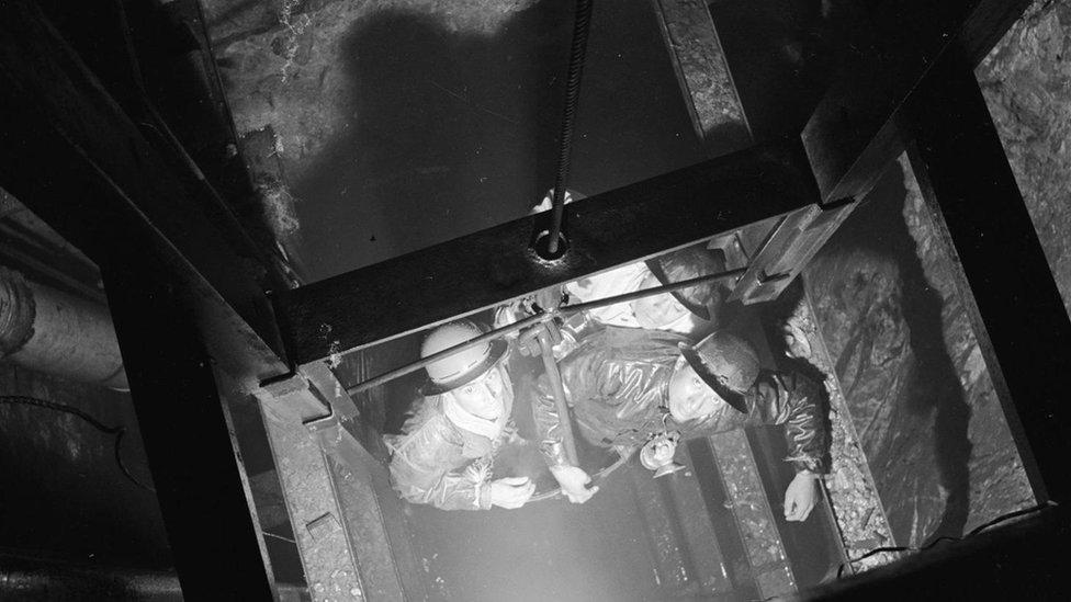Mineros de Cornualles en Real del Monte, México
