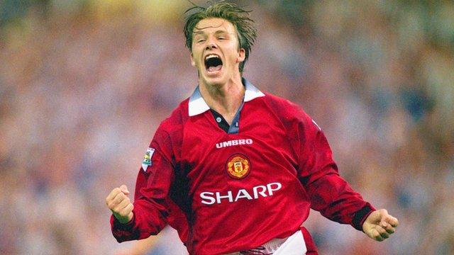 Manchester United's David Beckham