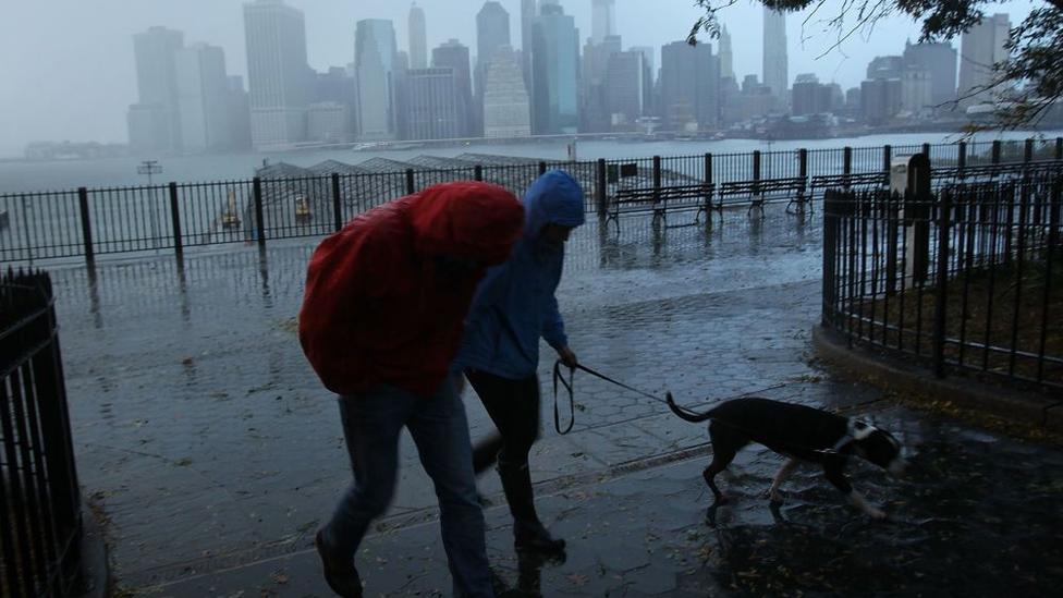 Huracán Sandy en Nueva York