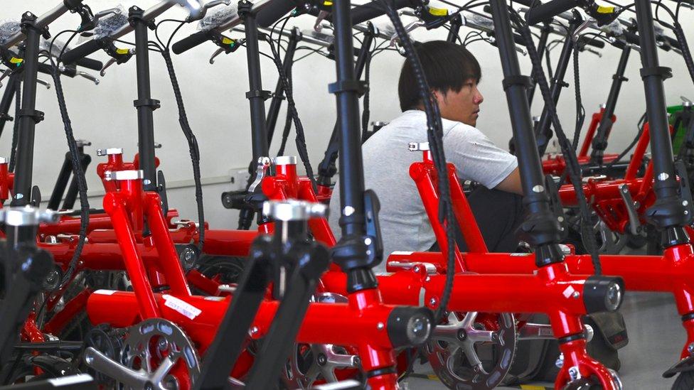 Una fábrica en China.