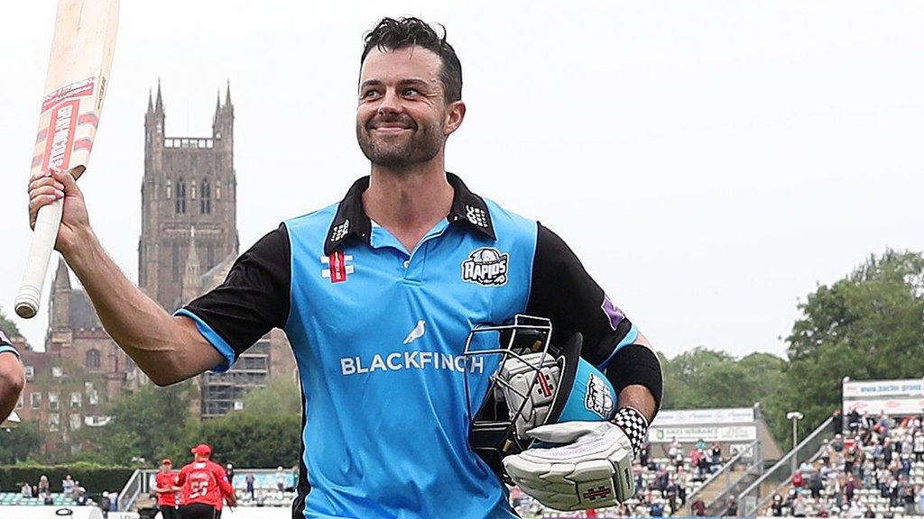 Callum Ferguson: Australian batsman to captain Worcestershire in One-Day Cup semi-final