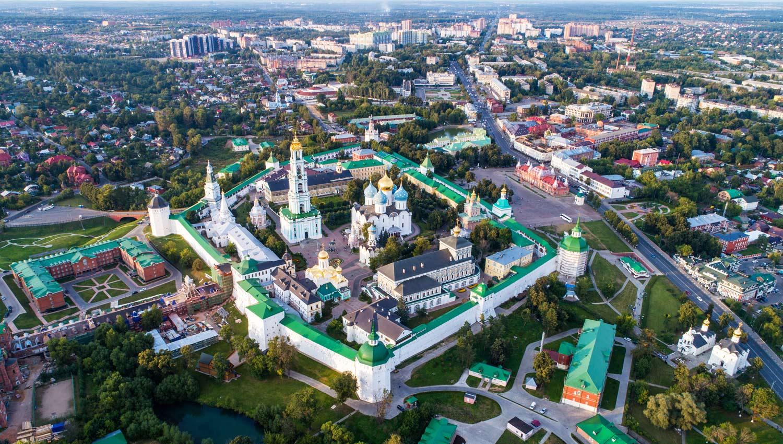 Grad Sergijev Posad je dom duhovnog centra Ruske pravoslavne crkve - Lavra svetog Trojstva i Sergija