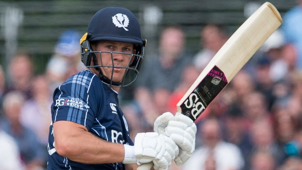 Scotland complete series win over Oman with 15-run victory