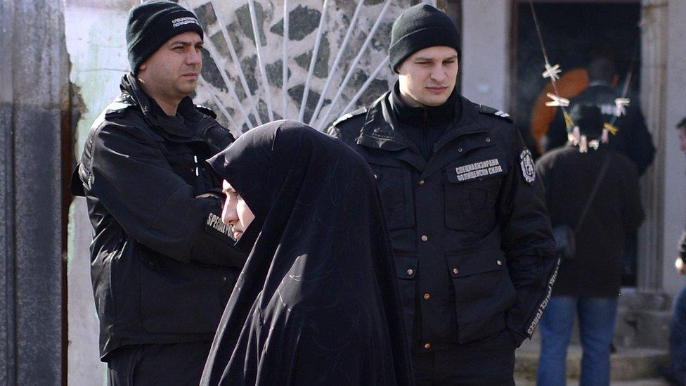 A Roma Muslim in Pazardjik (file pic 2014)