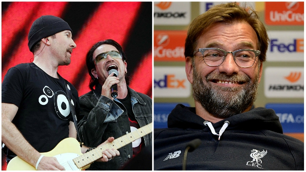 U2 fund pitch repair for Liverpool game
