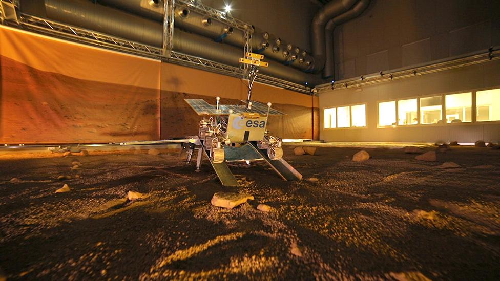 Rover simulation