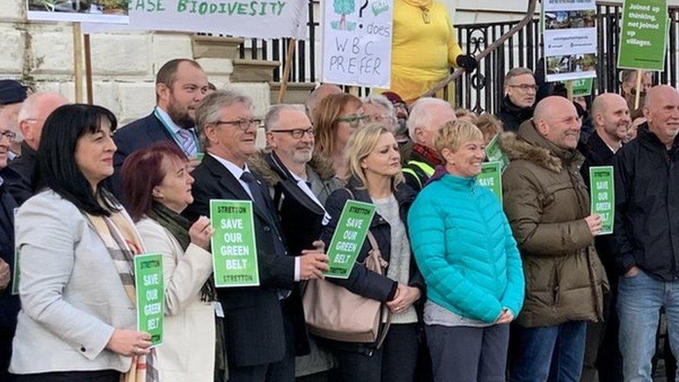 Warrington green belt housing plans backed by council